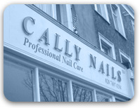Cally Nails shop front